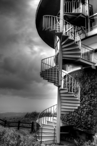 37 -Spiral Stairs