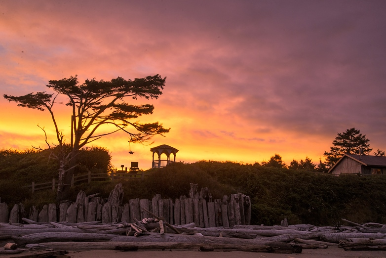 Dawn at Kalaloch Lodge